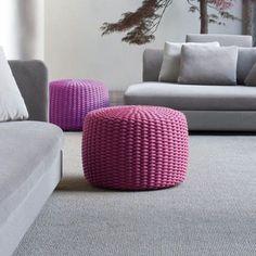 Pouf Nido - design Patricia Urquiola, Eliana Gerotto - Paola Lenti