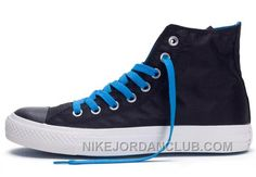 http://www.nikejordanclub.com/converse-black-high-tops-blue-laces-chuck-taylor-all-star-canvas-shoes-online-ys5t7.html CONVERSE BLACK HIGH TOPS BLUE LACES CHUCK TAYLOR ALL STAR CANVAS SHOES ONLINE YS5T7 Only $65.42 , Free Shipping!