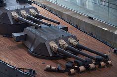 1/10 IJN Battleship Yamato Model @ Yamato Museum, Kure city, Hiroshima, Japan. 大和ミュージアム- 呉市海事歴史科学館, 広島県呉市宝町. #8C