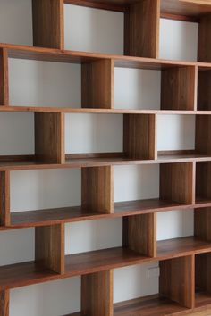 Recycled Spotted Gum book shelving By Thor's Hammer.