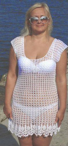 Ideas For Crochet Summer Vest Pattern Beach Covers Crochet Baby Cocoon, Cute Crochet, Crochet Lace, Crochet Bikini, Crochet Summer, Crochet Cover Up, Vest Pattern, Crochet Woman, Crochet Cardigan