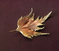 Electroplated Real Copper Leaf for by LaughingDogStudio on Etsy