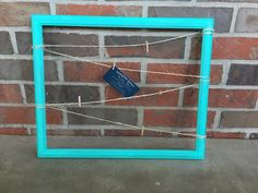 14''x16.5'' Turquoise Memo Board / Message Board / Bulletin Board / Picture Board / Nursery / Home Decor / Office Decor / Classroom Decor by TheRusticWillow25 on Etsy (null)
