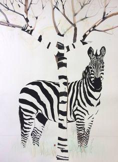 """Saatchi Art Artist marjan jaspers; Drawing, """"mimicry"""" #art"""