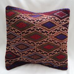 rug pillow kilim pillow hand woven Turkish kilim pillow cover -kilim pillow 04 #Turkish