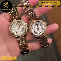 b6b12c5b5 นาฬิกาข้อมือ Michael Kors MK3260 Michael Kors Two-Tone Glitz Petite Camille  Watch -