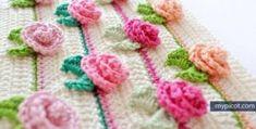 Crochet Rosebud Pattern Video Tutorial