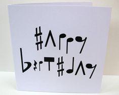 Music Birthday Card Paper Cut Card Musical Notes for Her Him Dad Man Son Brother Handmade Greeting Card Etsy UK Musik zum Geburtstag Karte Papier-Schnitt-Karte Musical Birthday Cards For Brother, Dad Birthday Card, Birthday For Him, Handmade Birthday Cards, Birthday Diy, Happy Birthday Cards, Birthday Greetings, Birthday Message, Birthday Gifts