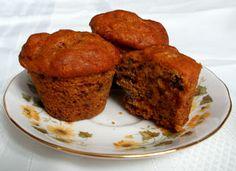The Healthy Happy Wife: Pumpkin Muffins (Dairy, Gluten and Sugar Free)