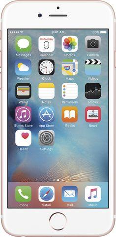 Popular on Best Buy : Apple - iPhone 6s 16GB - Rose Gold (Sprint)