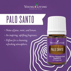 Palo Santo essential oil ~ Inspires and uplifts, plus promotes clearing of energy. Great in the diffuser. Great in room sprays. Great straight-up. | Want or need some? Click the image.