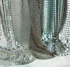 When trying to create a one-of-a-kind luxury design, when you need the type of material to make a splash, the metal mesh from Whiting & Davis is the one....