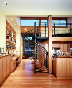 Spiral staircases are so pretty..