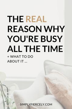 Before you can simplify and declutter, you need to understand why your life is busy and cluttered in the first place. Here's my personal experience and how I finally found a way forward. Organized Mom, Getting Organized, Good Time Management, Declutter Your Life, Productivity Hacks, Making Life Easier, Meaningful Life, Slow Living, Mindful Living