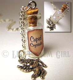 Cupid Crystals Swarovski Glass Bottle Cork by LittleGemGirl, $19.00