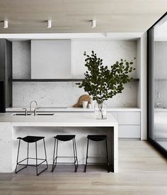9 Thankful Cool Ideas: Minimalist Kitchen Design Grey minimalist home white simple bedrooms.Minimalist Home Living Room Fireplaces minimalist interior design apartment.Minimalist Home White Simple Bedrooms. Interior Minimalista, Interior Design Kitchen, Modern Interior Design, Interior Ideas, Ikea Interior, Bar Interior, Interior Colors, Interior Livingroom, Design Bathroom