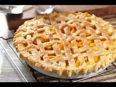 Pay de durazno - Peach pie - Recetas de postres - YouTube