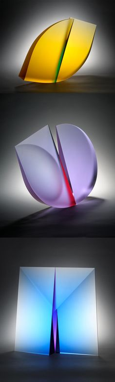 Glass Sculptures by Martin Rosol