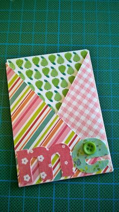 Cross Over Pocket Letter Insert Tutorial - by Carmen van Lokven