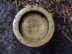 Big Slide Mtn Survey Marker