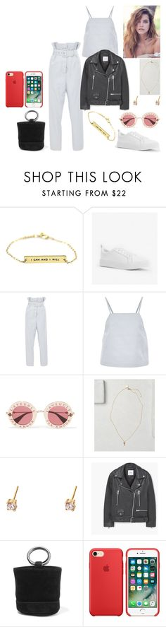 """""""out #152"""" by tynabrookler ❤ liked on Polyvore featuring Alice McCall, Gucci, Justin Bieber, MANGO and Simon Miller"""