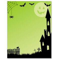 Halloween Borders for Stationary | Roll over main image to zoom.