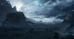 Alien landscape by ARTek92