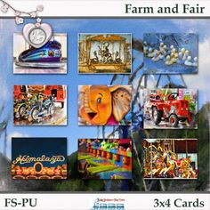 Farm and Fair Digital Scrapbooking Freebies, Paper Crafting, Frame, Cards, Painting, Design, Paper Engineering, Frames, Painting Art