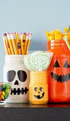 DIY Halloween : DIY  Halloween Treat Bar