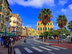 """""""✌☀️"""" La Croisette, Palais Des Festivals, Cannes France, World Famous, French Riviera, Sandy Beaches, Modern Buildings, Film Festival, Coast"""