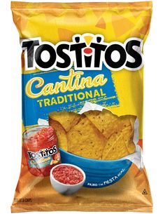 TOSTITOS® Cantina Traditional Tortilla Chips -  Highly recommend with any dip