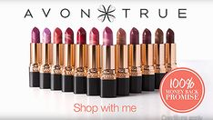 Shop Avon with me | #MorningFace and Supreme Nourishing Lipstick.  This is the advert and this is my store www.avon.uk.com/store/dannilouaromas