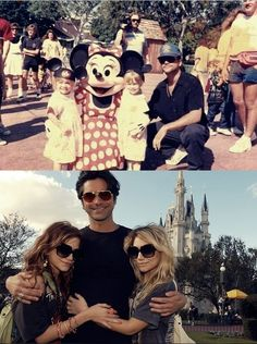 Mary Kate/Ashley & John Stamos then and now.
