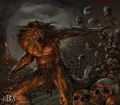 Werewolf 2 by Filipe-Pagliuso on deviantART