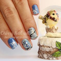 Instagram Cherry Nail Art, Instagram Posts, Beauty, Beauty Illustration