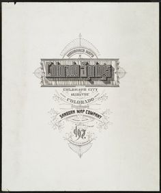 map typography