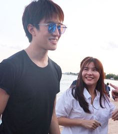 Aom Sushar and Mike D. Angelo