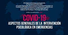 Intervención Psicológica en Emergencias COVID-19 | Comisión de Movie Posters, First Aid Kid, Psicologia, Film Poster, Film Posters