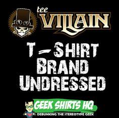 http://www.geekshirtshq.com/geek-tshirts/teevillain