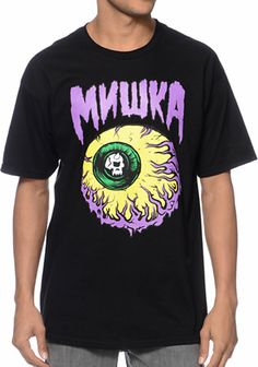 c57099e4638ad5 Mishka Lamour Keep Watch 2 Black Tee Shirt at Zumiez   PDP Keep Watching