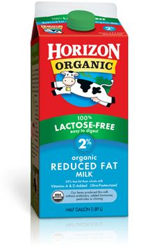 Horizon Organic Lactose-Free milk. Tastes really good.. And it's ultra pasteurized so it lasts longer.. I hate throwing away milk