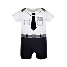 6011626404 Dress up your little one in this adorable baby romper