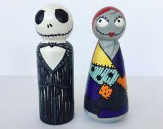 Superheroines peg doll by ClarasCreations2011 on Etsy