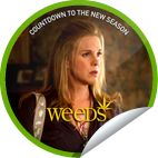 You're counting down the days to the season 8 premiere of Weeds, by reliving the past 7 seasons. Congrats on earning the Celia sticker. Tune in tonight at 10/9c on Showtime. Share this one proudly. It's from our friends at Showtime.