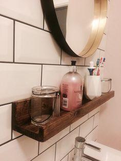 Picture ledges as shelves
