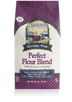 Gluten Free Flour from Namaste Foods, LLC.  Local to those of us in the Inland Northwest!  Great baking flour.
