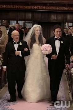 Here comes the bride - Leighton Meester - Gossip Girl