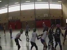 Warsaw Hellcats Roller Girls:  Roller Derby Trip to Leipzig