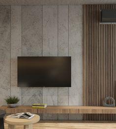 Living Room Tv Unit Designs, Ceiling Design Living Room, Home Room Design, Tv Unit Interior Design, Tv Wall Design, Apartment Interior, Living Room Interior, Living Room Decor, Painel Tv Sala Grande