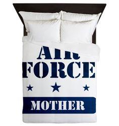 Air Force Mother Queen Duvet on CafePress.com